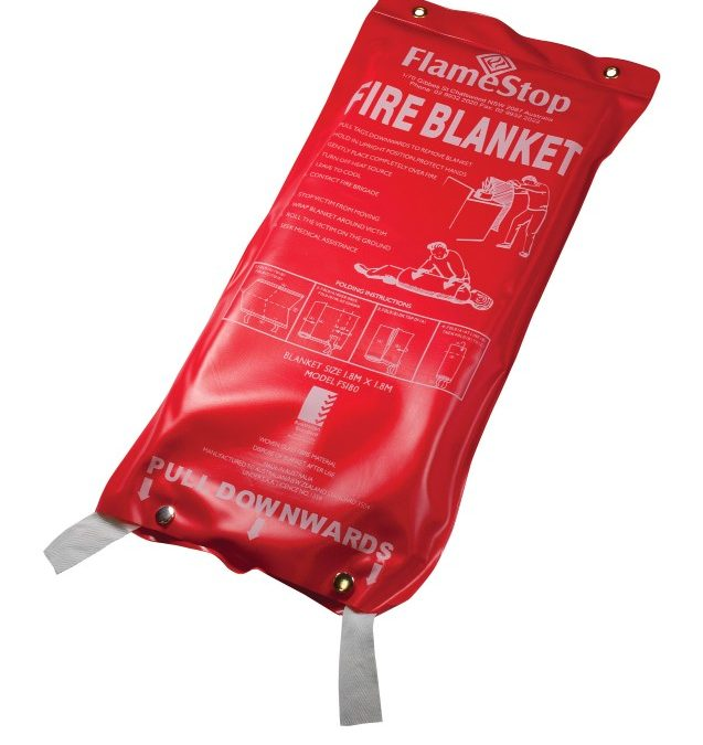 Every Kitchen should have a Fire Blanket