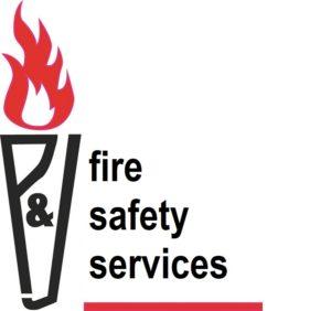 P&J Fire Services Logo