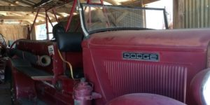 Dodge Fire Engine circa1920