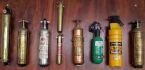 Fire extinguishers of the past